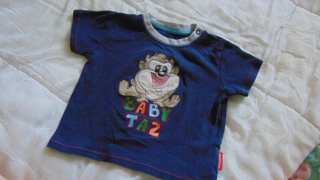 T-shirt 12-18 m 80 - 86 cm Baby Taz Looney Tunes