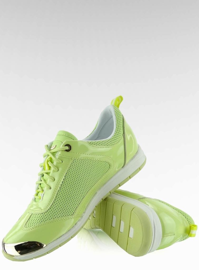 Buty sportowe z blaszką Y621 sport Płaski 36