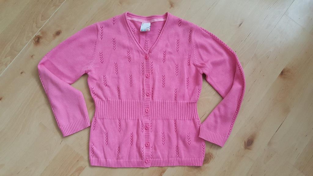 Cienki ażurowy sweterek COCCODRILLO rozm.128