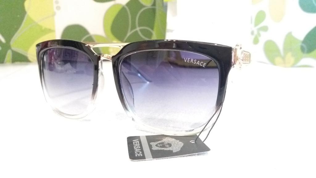 Versace okulary przeciwsłoneczne Antyrefleks Filtr UV400