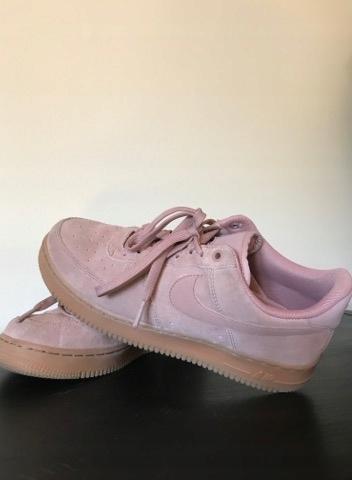 Nike Damskie Air Force 1 07 Pudrowy Róż Damskie buty