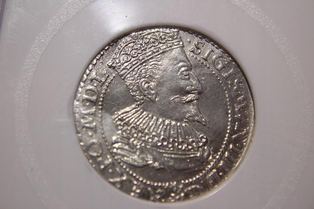 SZÓSTAK ZYGMUNT III WAZA 1596 R.SREBRO -CA729
