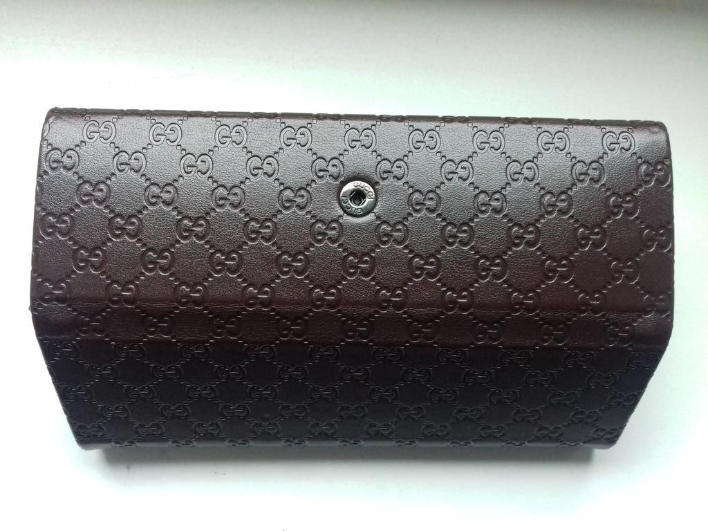 Gucci Etui Na Okulary 100 Oryginalne Skora Logo 7363026125