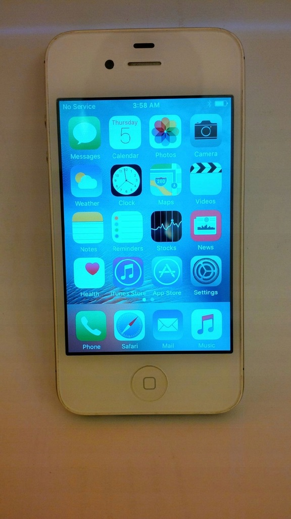 Iphone 4s 16gb Bialy Uszkodzony Bateria 4 7440424108 Oficjalne Archiwum Allegro