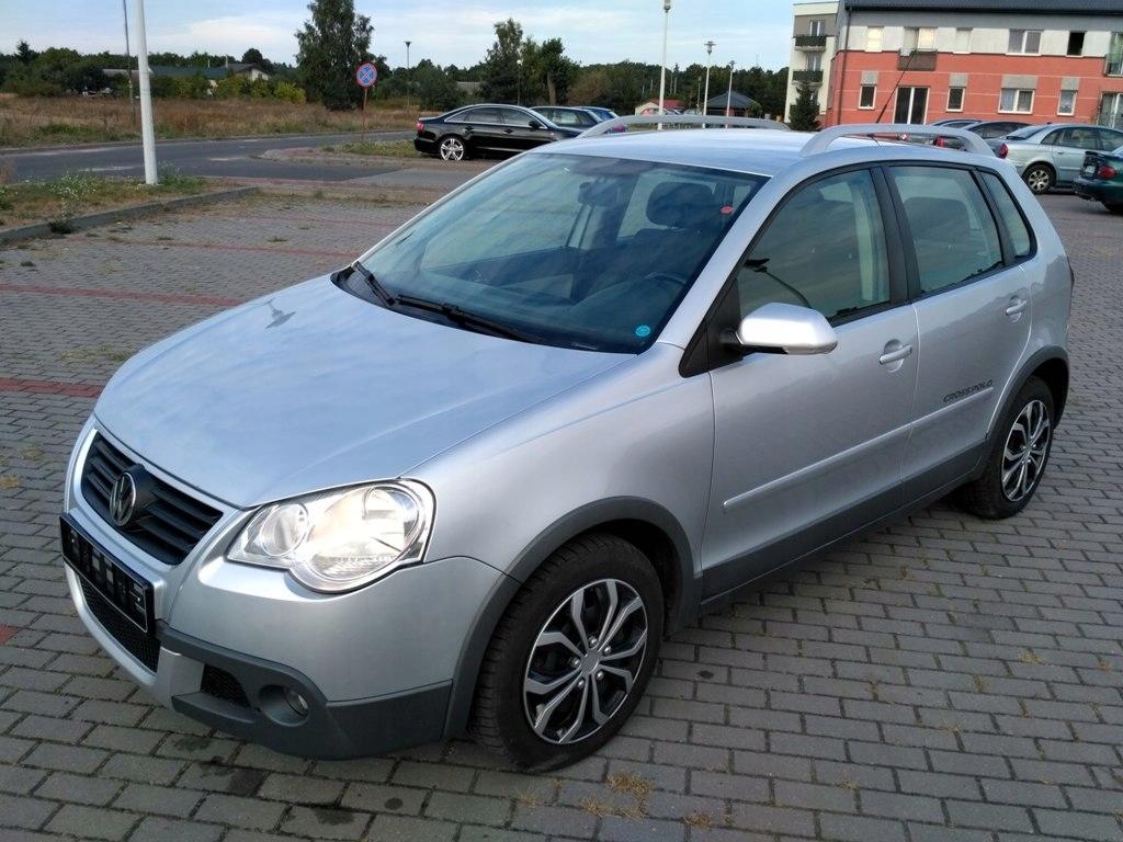 Vw Polo Cross 2006 1 6 Benzyna Z Niemiec Konin 7555111196 Oficjalne Archiwum Allegro