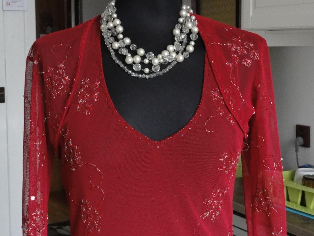 Armani wizyta święta sylwester włoska suknia tani