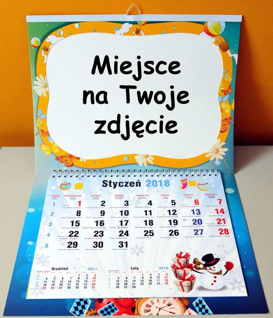 Jedyny Taki Fotokalendarz Z Wymiennym Zdjeciem 7060319323 Oficjalne Archiwum Allegro