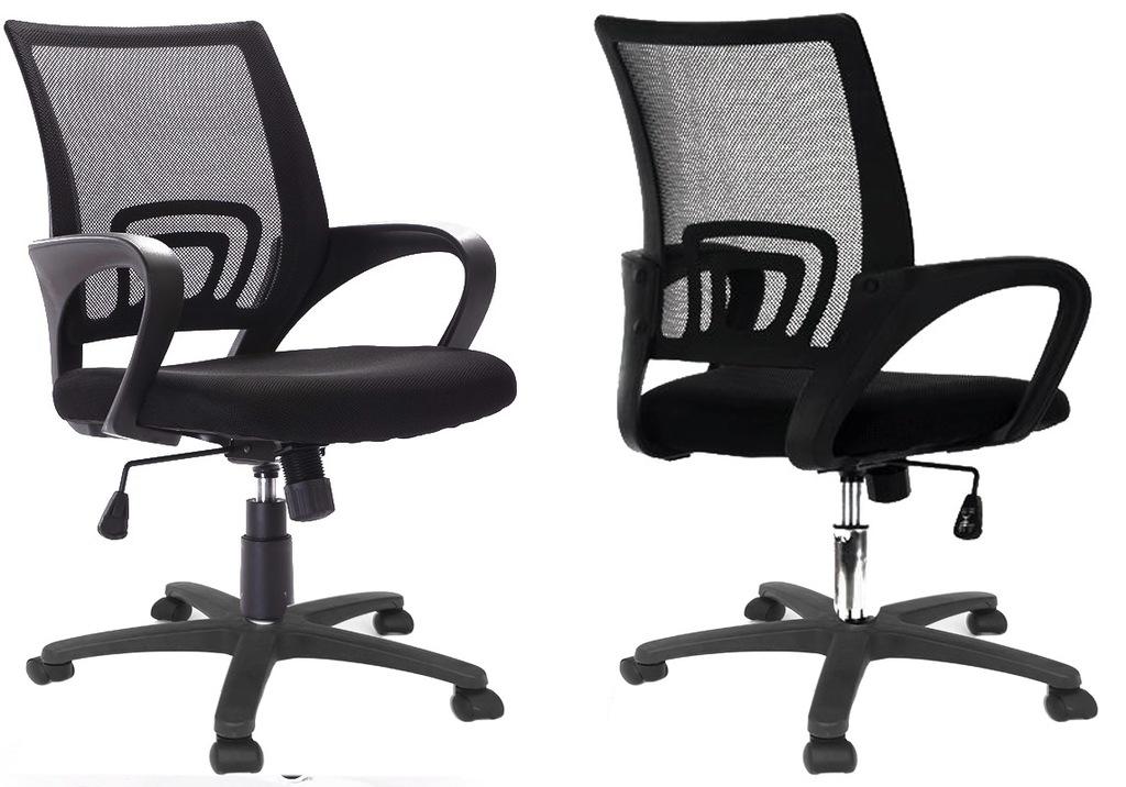 FOTEL BIUROWY Krzesło obrotowe biuro GUMOWE KÓŁKA