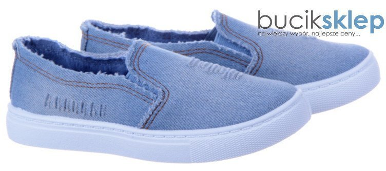 Tenisówki Buty Slip On Dziecięce TL243K Jeans 27