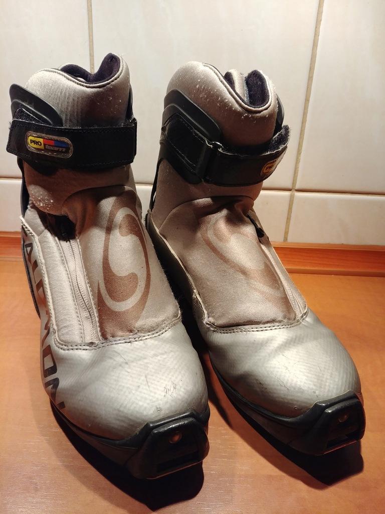Buty do nart biegowych SALOMON roz.39 SNS zamek