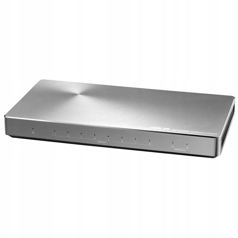 ASUS XG-U2008, 10G Netzwerk-Switch, Aluminium