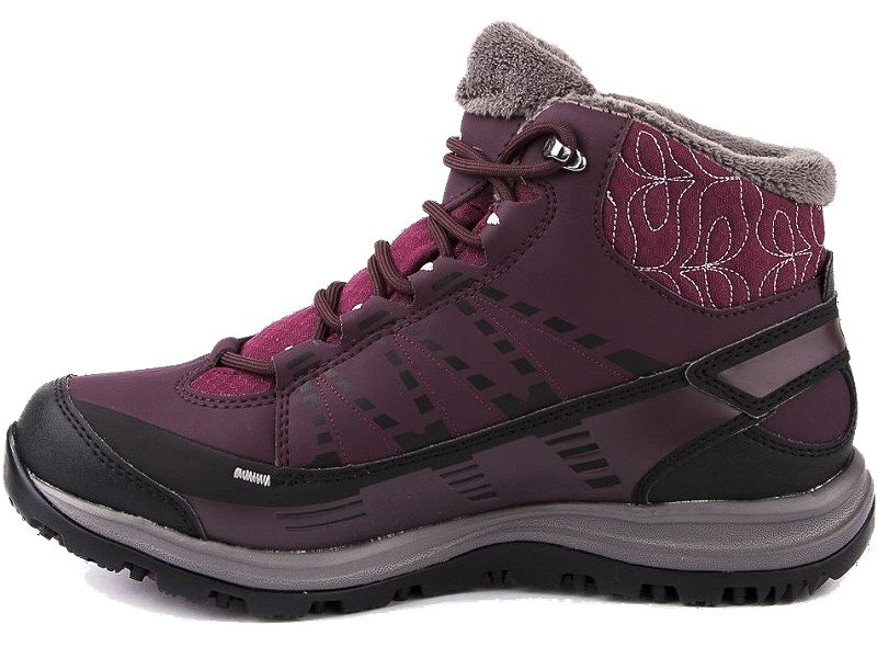 Buty trekkingowe Kaina CS WP 2 Salomon (bordowe)