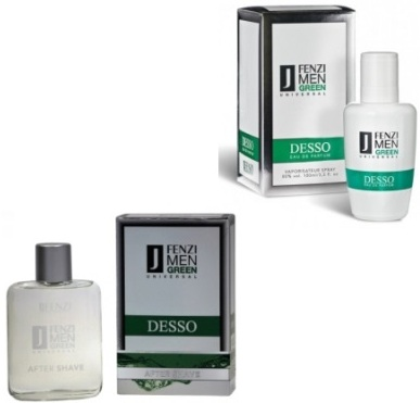 JFenzi Desso Green Universal ZESTAW EDP+AFTERSHAVE