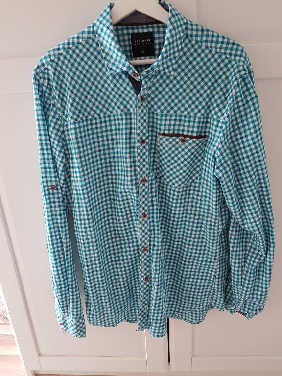 Koszula męska Reserved kratka rozm. M