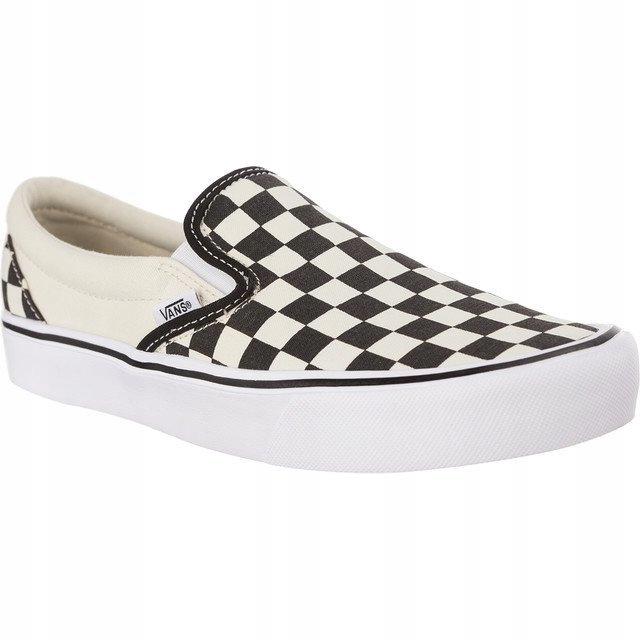 Białe Czarne Kolorowe Tekstylne Buty Vans r.40