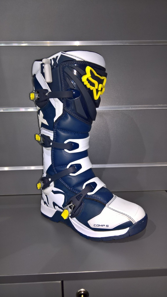 Buty FOX COMP 5 Holiday SE White/Yellow roz. 11