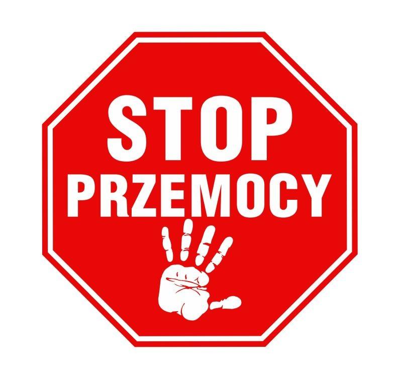 Naklejka znak zakazu Stop Przemocy 20 cm DE08 - 6895063529 - oficjalne archiwum Allegro