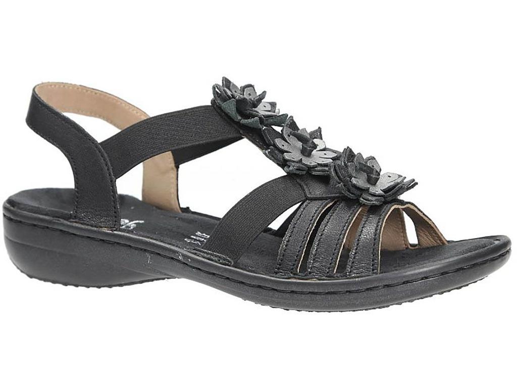 Rieker 60858 00 damskie sandały