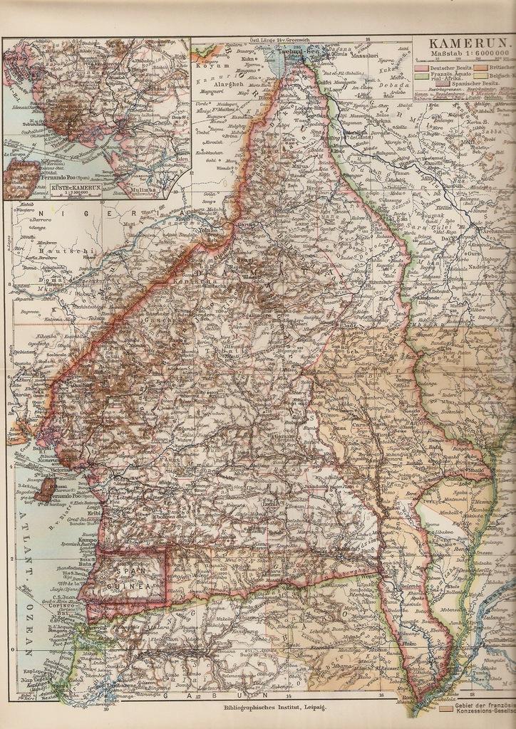 KAMERUN ROK 1892