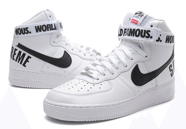 NIKE AIR FORCE 1 HIGH SUPREME 698696 100, r. 44