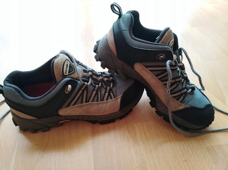 GRONELL Buty trekkingowe, podeszwa VIBRAM r. 3738