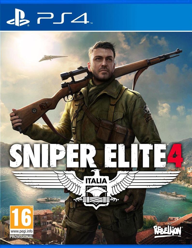 Sniper Elite 4 Inne Gry Wersja Cyfrowa Ps4 7318250102 Oficjalne Archiwum Allegro