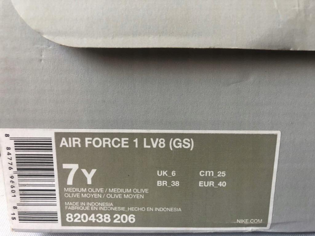Buty Nike Air Force 1 LV8 GS r. 40 UŻYWANE