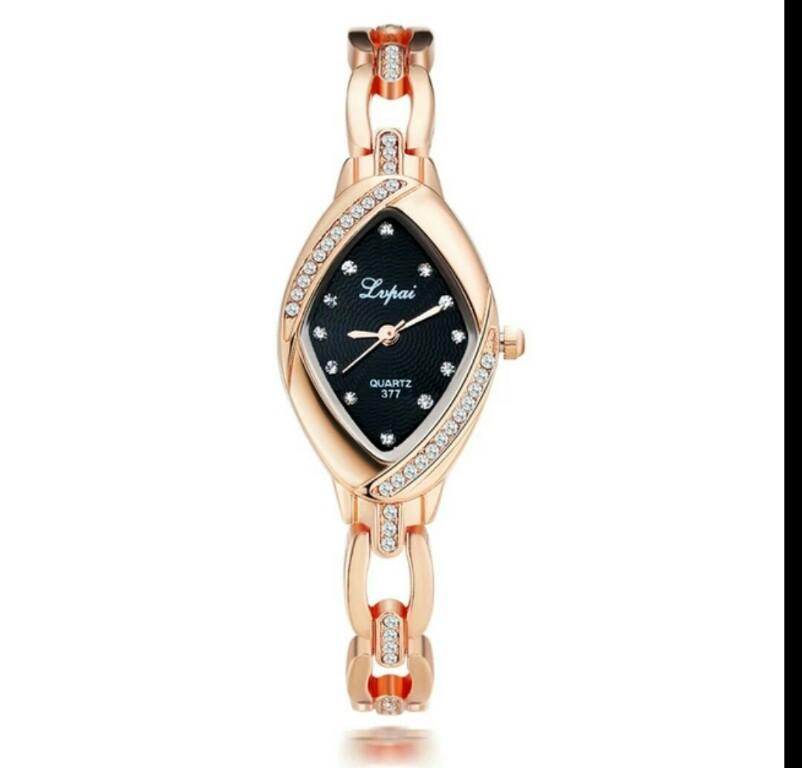 Nowy zegarek + bransoletka Idealny na prezent różowe złoto