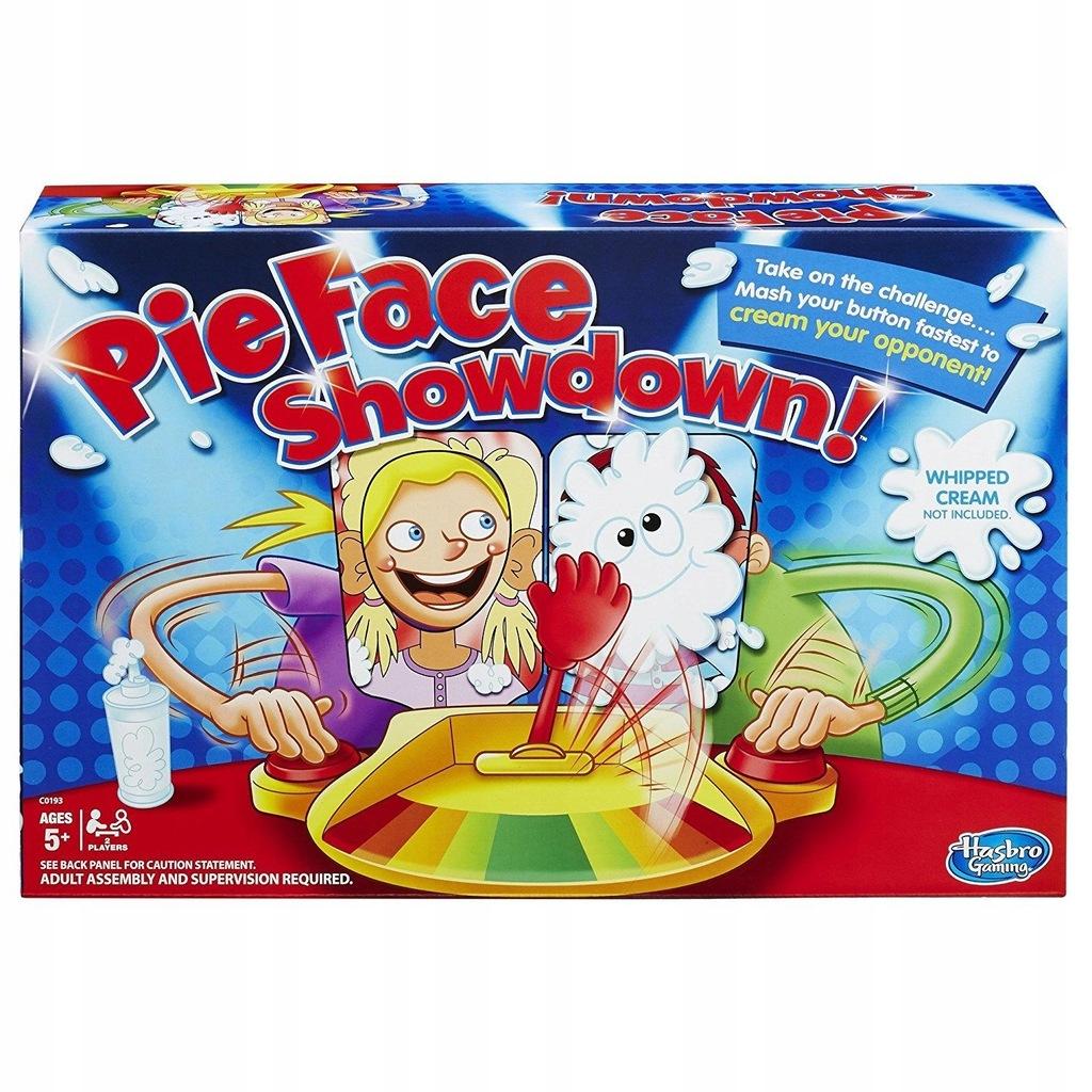 Gra Pie Face Showdown Dla 2 Osob 7638168728 Oficjalne Archiwum Allegro