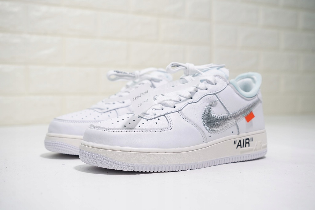 r. 38,5 Buty Nike Air Force 1 Low 314192 117 Białe