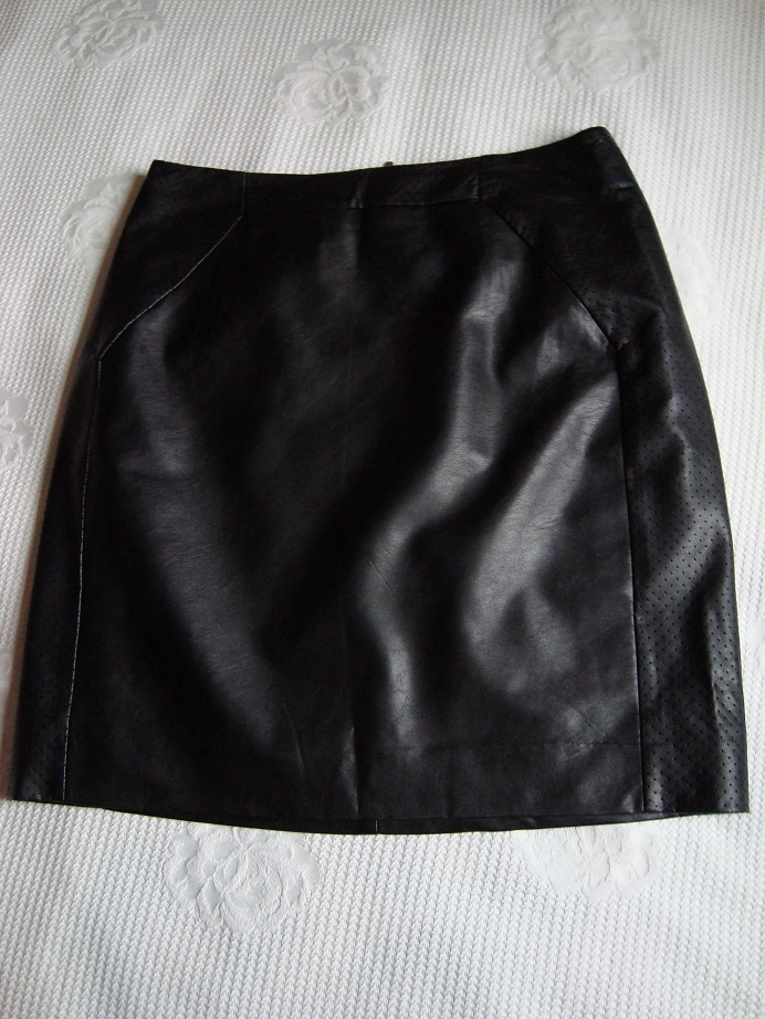 rozkloszowana spódnica H&M róż