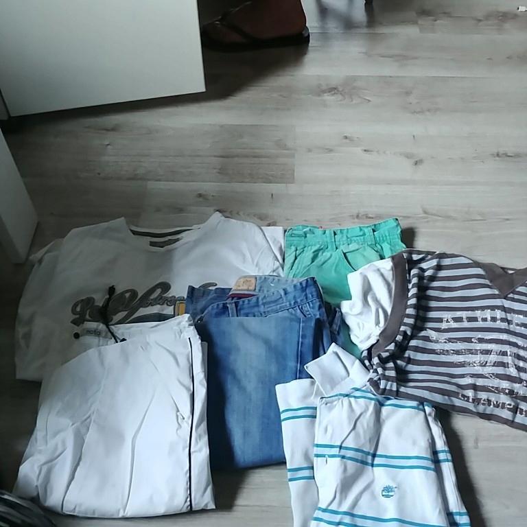 zestaw odziezy meskiej markowej L
