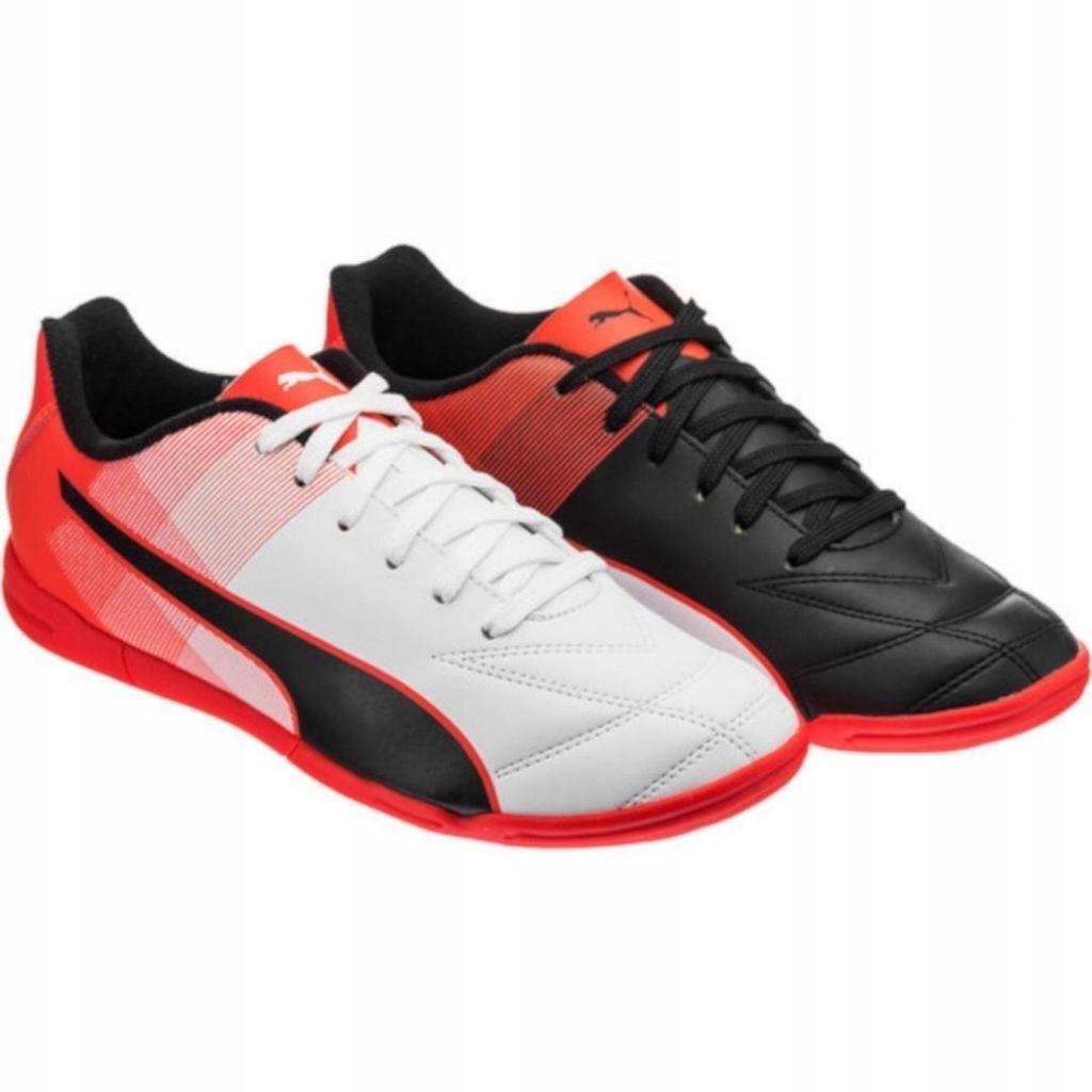 Buty piłkarskie halowe Adreno II IT Junior Puma (redblack