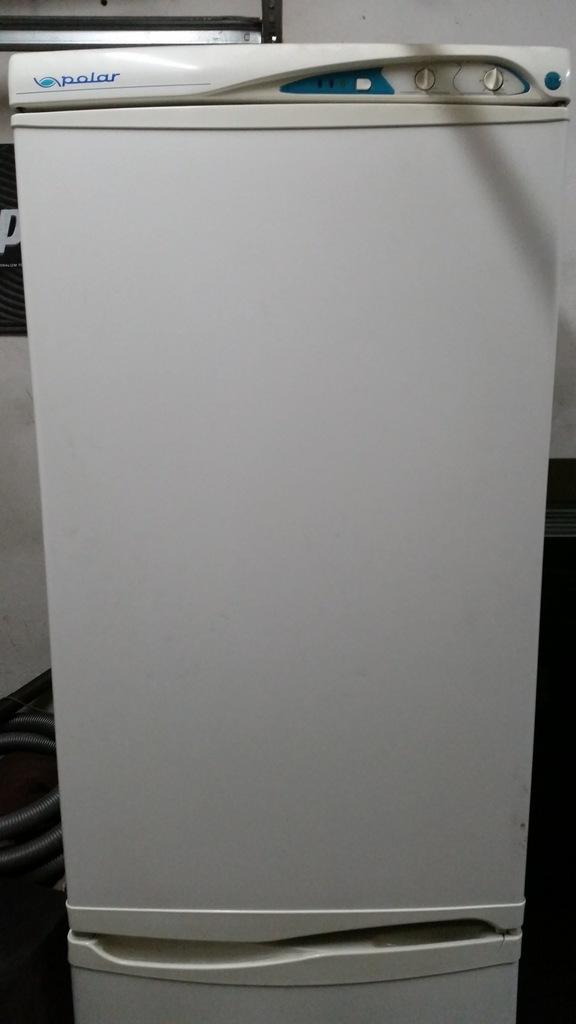 Lodówka Polar czn 340  LED 185cm 283L