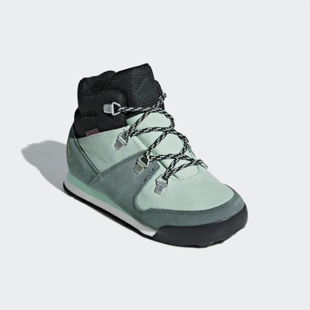 Buty trekkingowe ADIDAS BUTY DAMSKIE ZIMOWE SNOPWITCH AC7962
