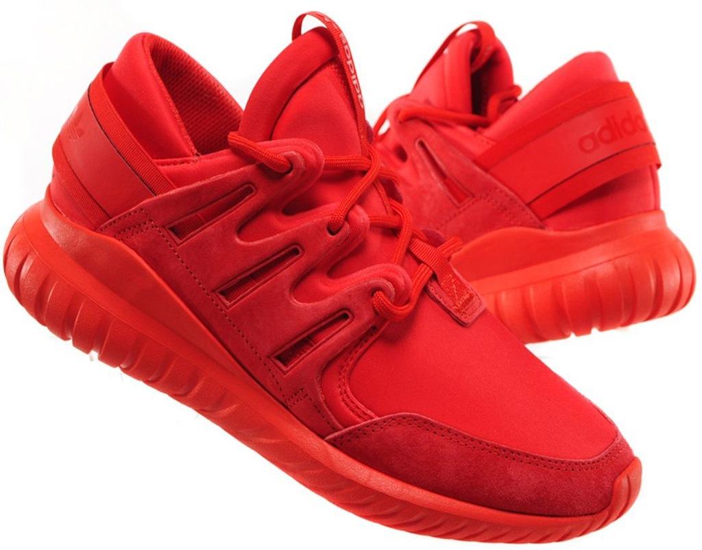 Sneakers buty Adidas Originals Tubular Nova red red (S74819)
