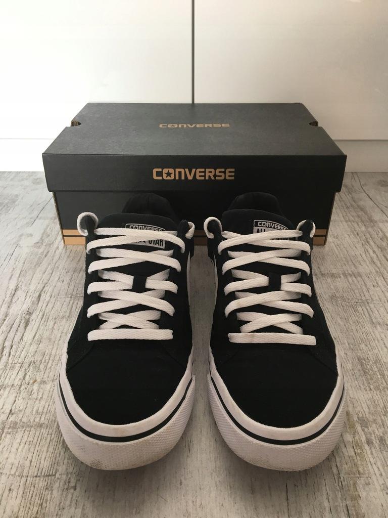 Buty Converse Cons el Distrito OX CzarneBiałe