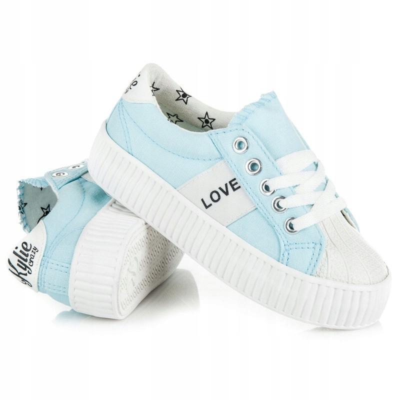 Trampki buty sportowe dziecięce na rzepy 4471 32