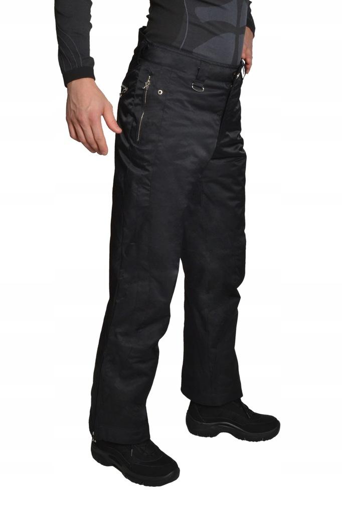 spodnie narciarskie męskie 100 cm w pasie
