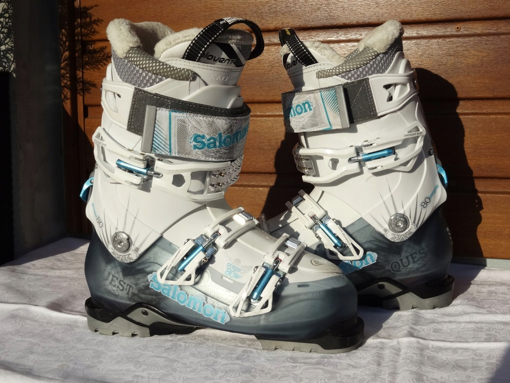 SALOMON QUEST 80 W 265MM 41EU BUTY NARCIARSK 2014