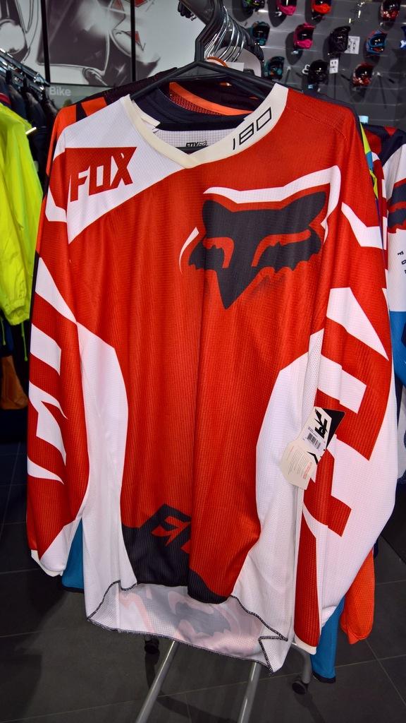 Bluza FOX 180 Race Red roz. L