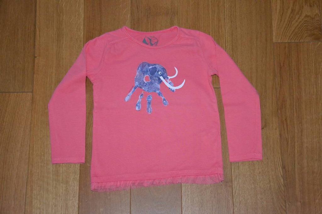 RESERVED Tunika bluzka 4-5 l 110 cm IDEAŁ