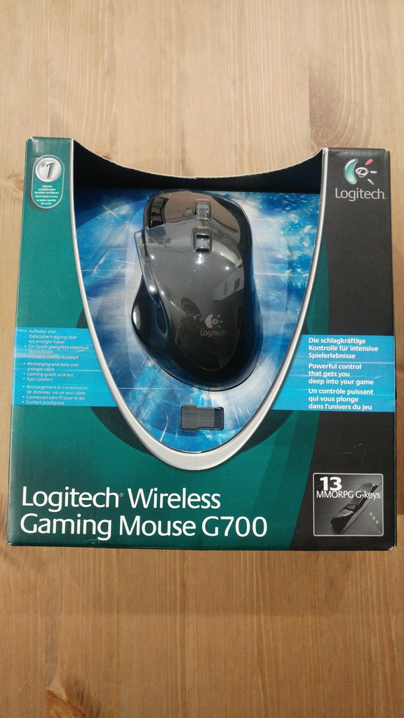Logitech G700 Gaming czarna Myszki bezprzewodowe Sklep