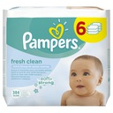 Pampers Chusteczki Baby Fresh 6 x 64 - 384 sztuki
