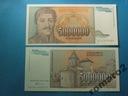 Banknot Jugosławia 5000000 Dinara 1993 P-132 UNC