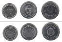 BANGLADESZ zestaw 3 monet