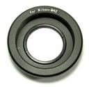 adapter redukcja bagnet NIKON > M42 soczewka