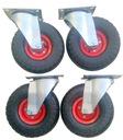 Komplet kół 4 szt 260 mm pneuma koło kółko kółka .