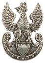 Orzeł wz. 17 do czapek oficerskich zakrętka