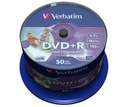 VERBATIM DVD+R 4,7GB PRINTABLE cake 100 DO NADRUKU